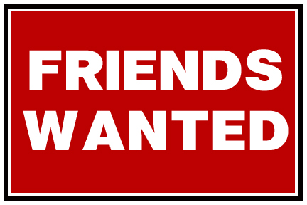 Seeking new friends